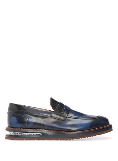 Barleycorn %100 Deri Klasik Ayakkabı Lacivert